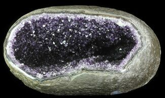 "12"" Purple Amethyst Geode - Uruguay For Sale, #66692"