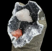 Heulandite, Stilbite & Quartz - Fossils For Sale - #67680