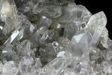 "2.5"" Quartz Cluster With Magnesium Inclusions - Arkansas - #33349-4"
