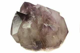 "5.1"" Smoky Amethyst Crystal Cluster - Diamond Hill Mine For Sale, #69785"