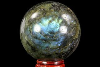"Bargain, 2.35"" Flashy Labradorite Sphere - Great Color Play For Sale, #71813"