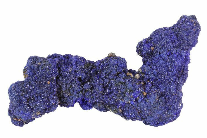 "2.6"" Sparkling Azurite Crystal Cluster - Morocco"