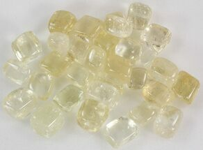 Buy Bulk Premium Polished Yellow Calcite- 8oz. (~ 8pc.) - #75661