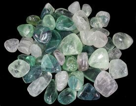 Buy Bulk Polished Fluorite - 8oz. (~ 15pc.) - #75664