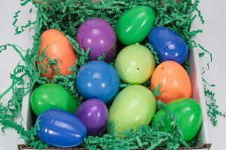 Buy Mineral & Crystal Filled Easter Eggs! - 12 Pack - #75721