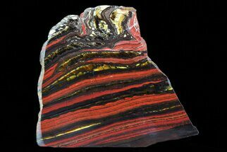 Tiger Iron Stromatolite - Fossils For Sale - #75825