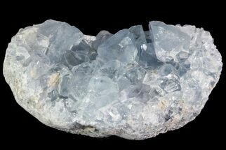 "4.1"" Sky Blue Celestite Crystal Cluster - Madagascar For Sale, #75950"