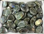 Wholesale Lot: 25 Lbs Quality Polished Labradorite - 46 Pieces - #77280-2
