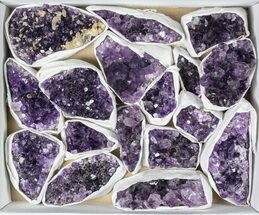 Quartz var. Amethyst - Fossils For Sale - #79422