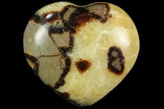 "Buy 2.9"" Polished Septarian Heart - #82012"