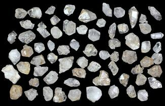 Buy Wholesale Flat: Clear Quartz Crystals (Morocco) - 68 Pieces - #82339