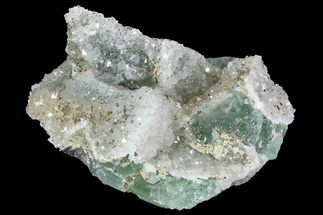 "Buy 2.9"" Quartz, Fluorite and Pyrite Crystal Association - Morocco - #82792"