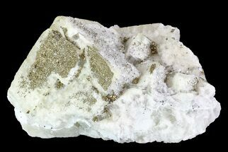 "Buy 4.6"" Quartz, Fluorite and Pyrite Crystal Association - Morocco - #82795"