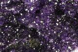 "12.8"" Purple Amethyst Geode - Uruguay - 31 Pounds - #83539-4"