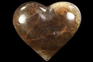 "Buy 3.1"" Polished Fluorite Heart - Argentina - #84175"