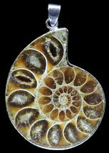 Buy Fossil Ammonite Pendant - 110 Million Years Old - #89809