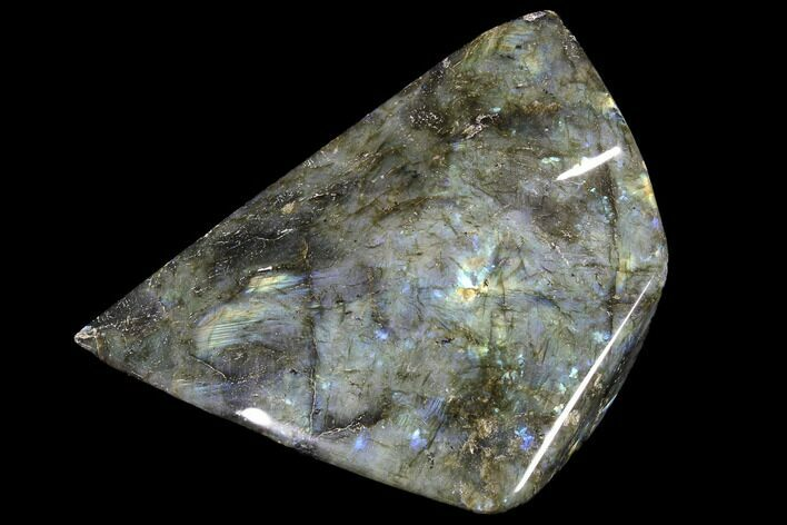 "6.7"" Flashy Polished Labradorite Free Form"