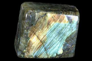 "3.4"" Flashy Polished Labradorite Free Form For Sale, #90665"