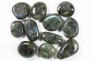 Buy Lot: Polished Labradorite Pebbles - 1 kg (2.2 lbs) - #90526