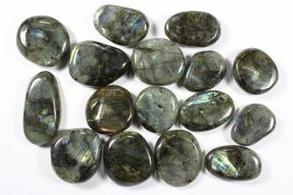 Buy Wholesale Box: Polished Labradorite Pebbles - 1 kg (2.2 lbs) - #90508