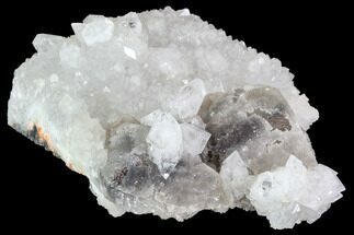 "Buy 4.4"" Colorless Apophyllite on Calcite - India - #91240"