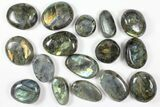 Wholesale Box: Polished Labradorite Pebbles - 5 kg (11 lbs) - #90660-1