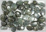 Wholesale Box: Polished Labradorite Pebbles - 5 kg (11 lbs) - #90661-1