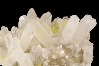 "Buy 2.5"" Sulfur and Celestite Crystal Association - Italy - #93655"