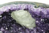 "12"" Amethyst ""Jewelry Box"" Geode On Stand - Gorgeous - #94204-6"