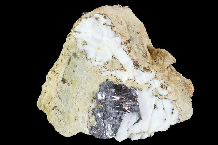 "3.3"" Galena & White Barite Association - Missouri"