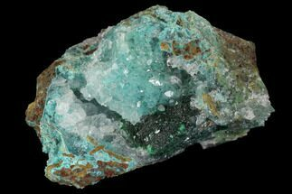 Quartz, Atacamite & Chrysocolla  - Fossils For Sale - #98130
