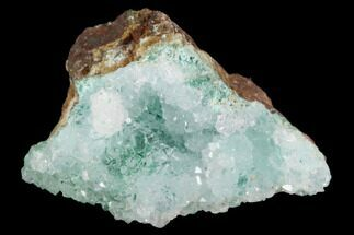 "1.4"" Quartz on Chrysocolla & Malachite - Peru For Sale, #98099"