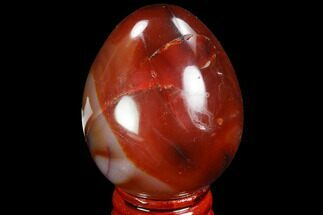 Chalcedony var. Carnelian Agate - Fossils For Sale - #98532
