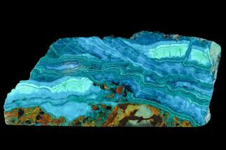 Chrysocolla & Malachite - Fossils For Sale - #98910