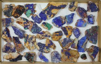 Azurite & Malachite - Fossils For Sale - #103623
