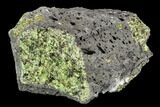 "4.3"" Peridot in Basalt - Arizona - #104017-1"