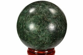 "2"" Polished Fuchsite Sphere - Madagascar For Sale, #104234"