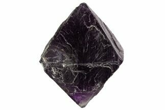 "1.8"" Fluorite Octahedron - Purple/Green For Sale, #104732"