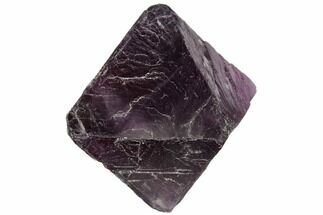 "Buy 1.8"" Fluorite Octahedron - Purple/Green Banded - #104740"