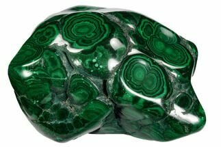 "Buy 4.1"" Polished Malachite Specimen - Congo - #106246"