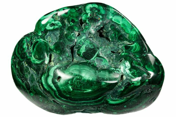 "2.6"" Polished Malachite Specimen - Congo"