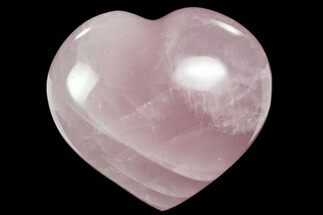"Buy 3.2"" Polished Rose Quartz Heart - Madagascar - #63034"