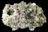 "1.8"" Marcasite, Quartz and Bladed Barite Association - Morocco - #107916-1"