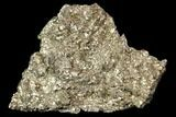"1.9"" Pyrite Crystal Cluster - Morocco - #107917-1"