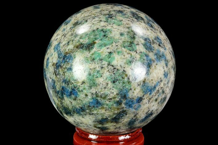 "2.1"" Polished K2 Granite Sphere - Pakistan"