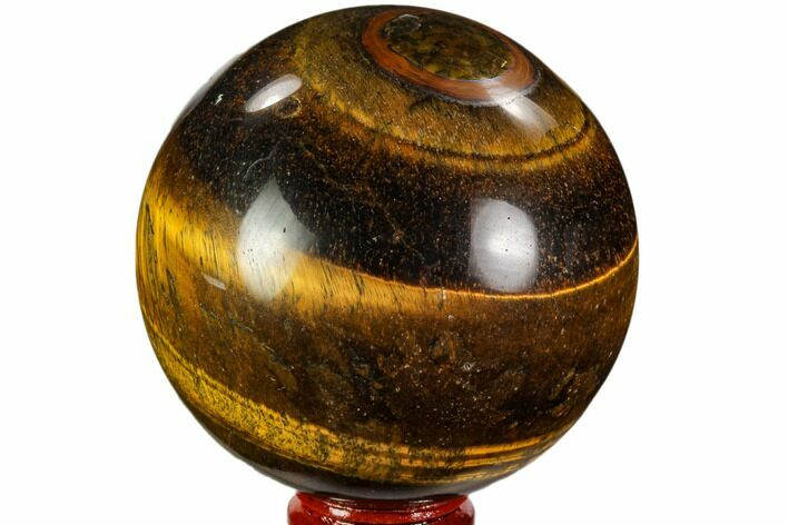 "3"" Polished Tiger's Eye Sphere - Africa"
