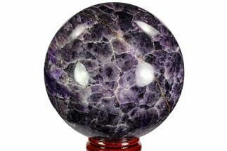 "Buy 2.8"" Polished Chevron Amethyst Sphere - Morocco - #110233"