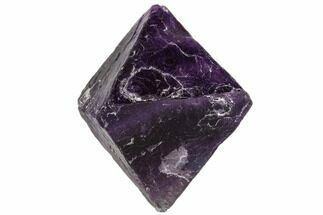 "2.3"" Purple Fluorite Octahedron - China For Sale, #110060"