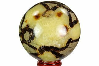 "Buy 2.8"" Polished Septarian Sphere - Madagascar - #110674"