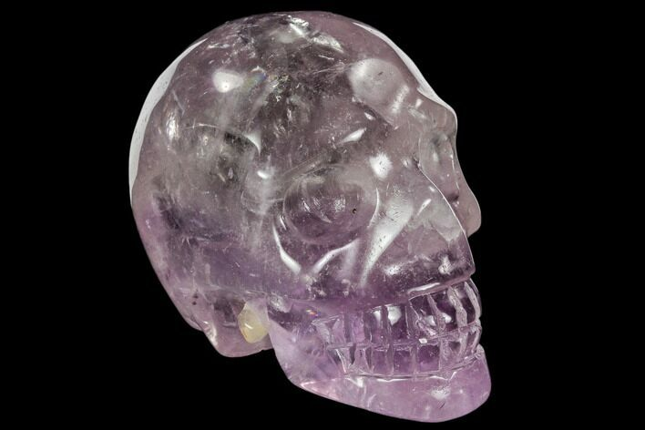 "2.9"" Carved Amethyst Crystal Skull"